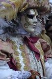 Venitian καρναβάλι στο Annecy, Γαλλία Στοκ εικόνες με δικαίωμα ελεύθερης χρήσης