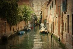 Venitian canal Royalty Free Stock Image