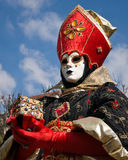 Venitian Carnival in Paris Royalty Free Stock Images