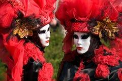 Venitian Carnival in Paris Royalty Free Stock Photo