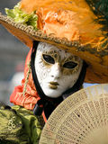 Venitian Carnival in Paris Royalty Free Stock Photography