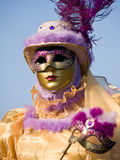 Venitian Carnival in Paris Royalty Free Stock Images
