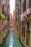 Venitian channels Royalty Free Stock Photo