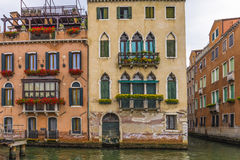 Venitian facades Royalty Free Stock Images
