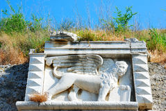 Venitian fortress, corfu, greece royalty free stock image