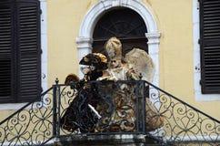 Venitian karnawał w Annecy, Francja obrazy stock