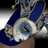 Venitian mask. Royalty Free Stock Image