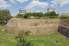 Venitian walls in Nicosia Stock Image