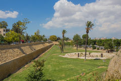 Venitian walls in Nicosia Royalty Free Stock Images
