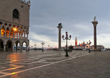Venitian winter morning Stock Image
