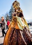 venitien den annecy karnevalet 2012 D Arkivbilder