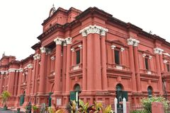 Venkatappa Art Gallery, Bangalore fotos de archivo