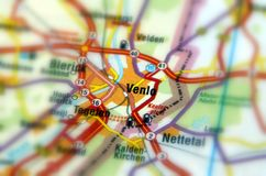 City of Venlo - Netherlands. Venlo is a municipality and a city in the southeastern Netherlands Europe, near the German border. It is situated in the province of royalty free stock photos