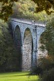 Vennbahn viadukt i Aachen, Tyskland, ledare Arkivbild