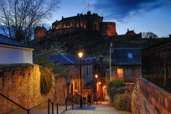 Vennel in Edinburgh royalty-vrije stock fotografie