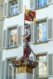 Vennerbrunnen, einer der berühmten Renaissancebrunnen XVII c Lizenzfreies Stockbild