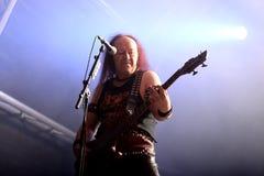 Venom hard rock metal band perform in concert at Primavera Sound 2016 Stock Photos