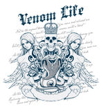 Venom Life Royalty Free Stock Images