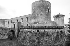 Venosa castle Royalty Free Stock Photo
