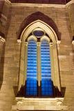 Venster 2 van de kerk Stock Foto