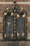 Venster bij het Kasteel van Frederiksborg in Hillerod, Denemarken Royalty-vrije Stock Afbeelding