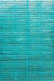 Venster blauw kleurrijk oud houten blind Stock Afbeelding