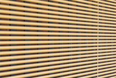 Venster houten blinde clos - omhoog royalty-vrije stock afbeeldingen