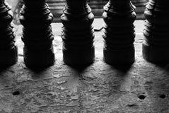 Venster van Angkor Wat Stock Afbeelding