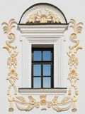 Venster van de oude bouw royalty-vrije stock afbeeldingen