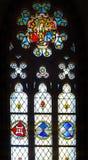 Venster 6 van het gebrandschilderd glas Royalty-vrije Stock Fotografie