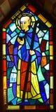 Venster 6 van het gebrandschilderd glas Royalty-vrije Stock Afbeelding