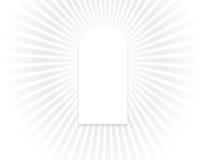 Venster van licht Vector Illustratie