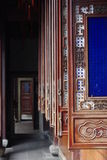 Venster van oud buidling China Stock Fotografie