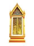 venster van tempel Stock Afbeeldingen
