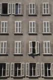 Vensters, Genève. Royalty-vrije Stock Fotografie