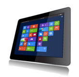 Vensters 8 Tablet Stock Fotografie