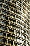 Vensters van de moderne bouw Royalty-vrije Stock Afbeeldingen