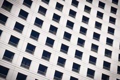 Vensters van een gebouw Royalty-vrije Stock Afbeeldingen