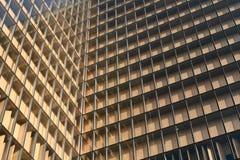 vensters van Parijs bibliotheek stock foto's