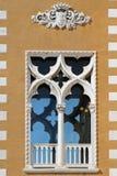 Vensters van Venetië Stock Fotografie