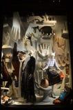 Venstervertoning in Bergdorf Goodman in NYC Royalty-vrije Stock Foto