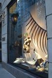 Venstervertoning in Bergdorf Goodman in NYC Royalty-vrije Stock Fotografie