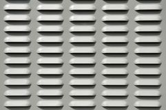 Vent Background. Gray Vented Grate Panel Background Stock Photography