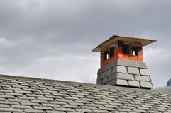 Vent of chimney Royalty Free Stock Images