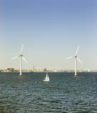 vent d'énergie Photo libre de droits