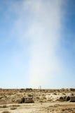 Vent de désert en Tunisie du sud image libre de droits