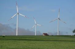 vent de ferme Photo libre de droits