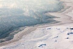 Vent de l'hiver Photo stock
