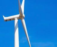 vent de turbine de ciel bleu Photos libres de droits