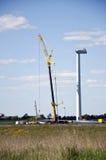 vent de turbine de construction Photos libres de droits
